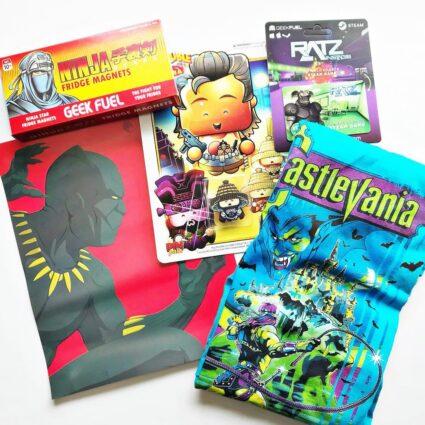 Geek Fuel Subscription Box